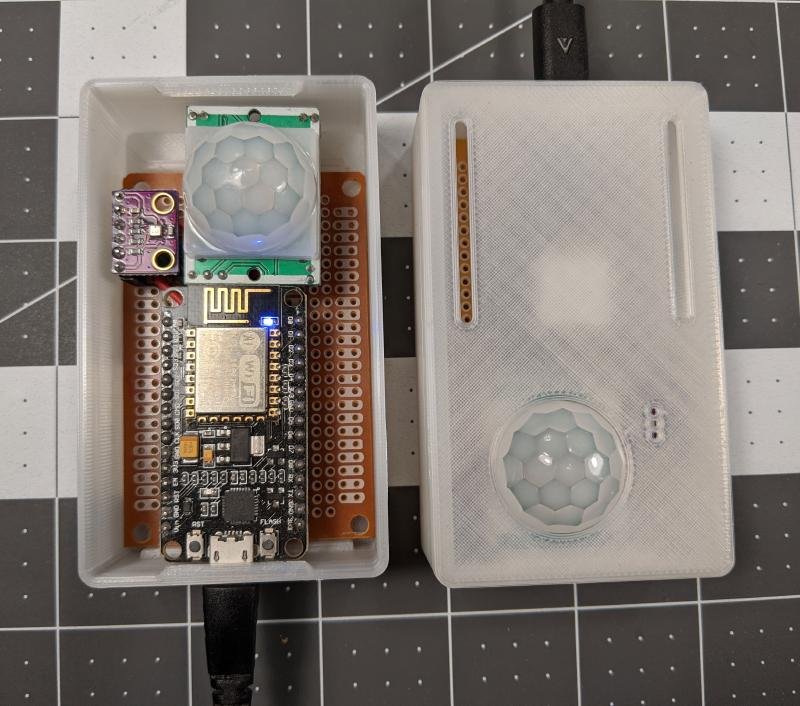 2 complete boards in 3D printed enclosures